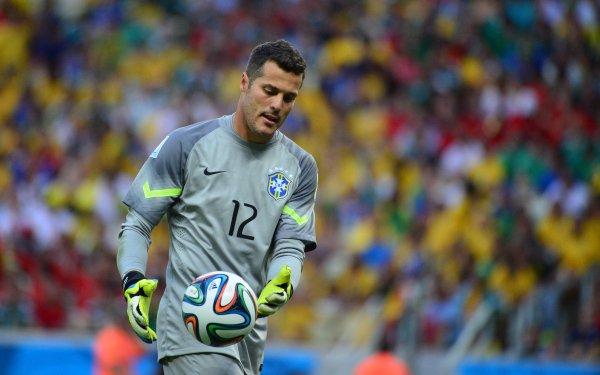 Sports Júlio César Brazil National Football Team HD Wallpaper   Background Image