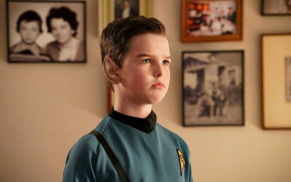TV Show Young Sheldon Iain Armitage Sheldon Cooper HD Wallpaper | Background Image