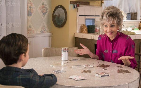 TV Show Young Sheldon Iain Armitage Sheldon Cooper Annie Potts Constance Tucker HD Wallpaper | Background Image