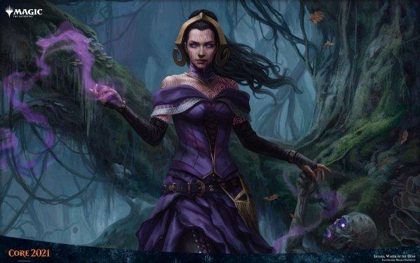 Game Magic: The Gathering Necromancer Liliana HD Wallpaper | Background Image