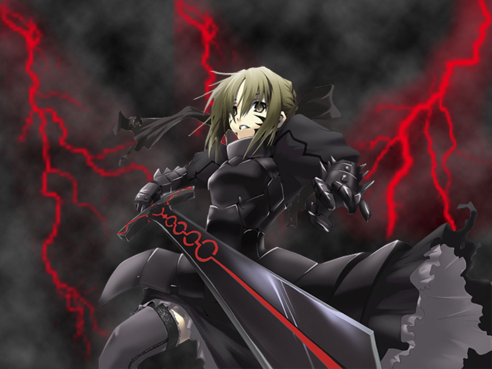 Anime - Fate/Stay Night  - Saber Alter Wallpaper
