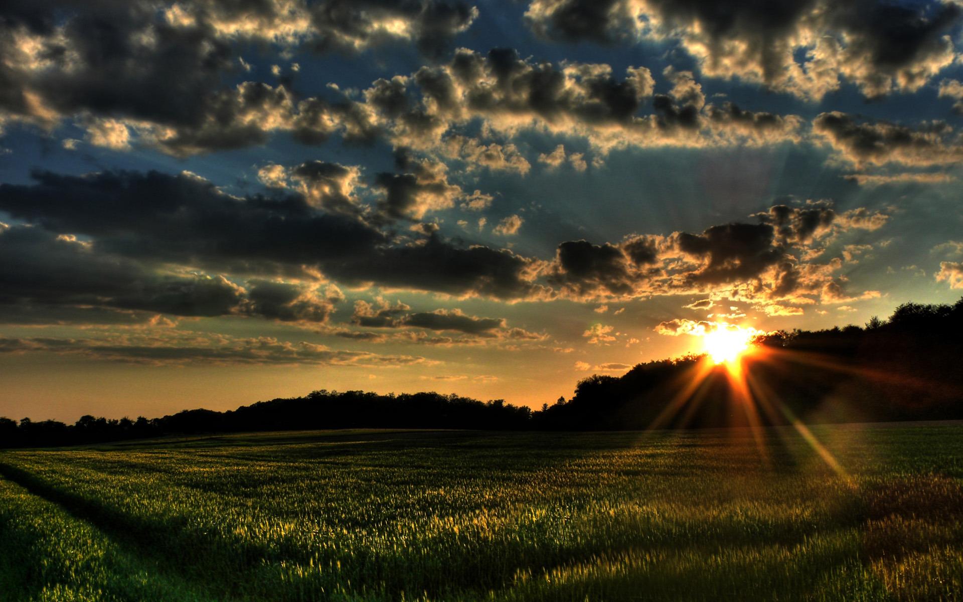 Sonnenaufgang HD Wallpaper