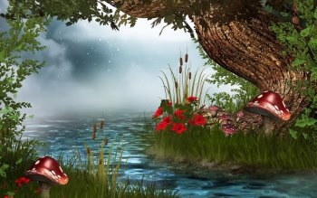 Fantasy - Künstlerisch Wallpapers and Backgrounds ID : 118662