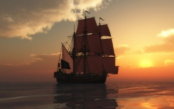Fantasy - Ship Wallpapers and Backgrounds