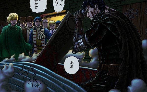 Anime Berserk Serpico Guts Farnese HD Wallpaper   Background Image