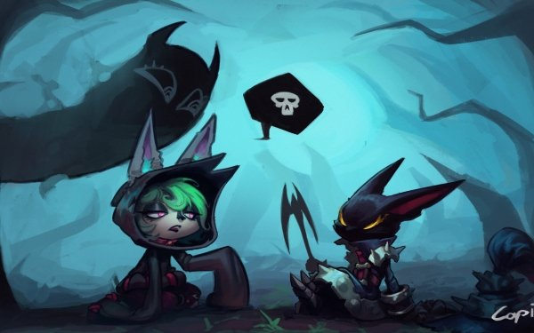 Video Game League Of Legends Vex HD Wallpaper | Background Image