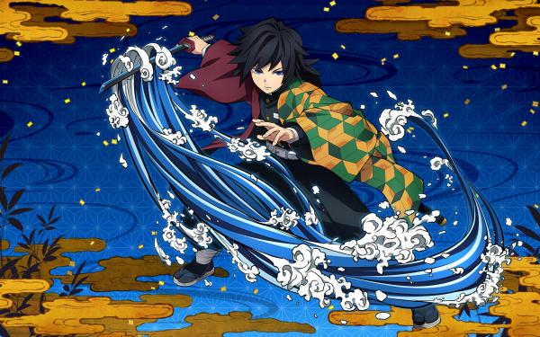 Video Game Demon Slayer -Kimetsu no Yaiba- The Hinokami Chronicles Giyuu Tomioka HD Wallpaper | Background Image