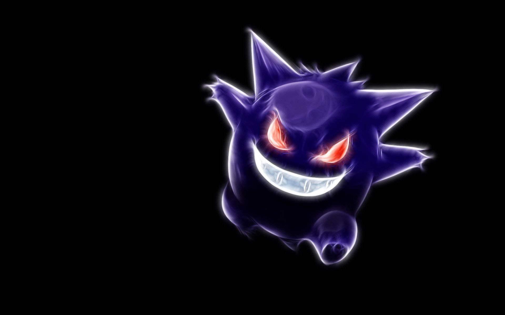 Anime - Pokemon  Gengar (Pokémon) Pokémon Ghost Ghost Pokémon Wallpaper