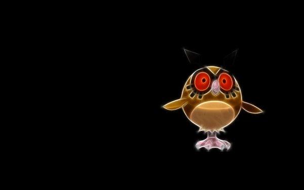 Anime Pokémon Hoothoot Flying Pokémon HD Wallpaper | Background Image