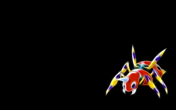 Anime Pokémon Ariados HD Wallpaper   Background Image