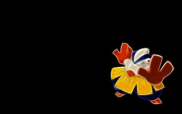 Anime Pokémon Hariyama Fighting Pokémon HD Wallpaper | Background Image