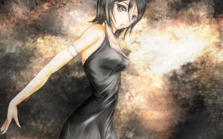 Anime - Bleach  Rukia Kuchiki Wallpaper