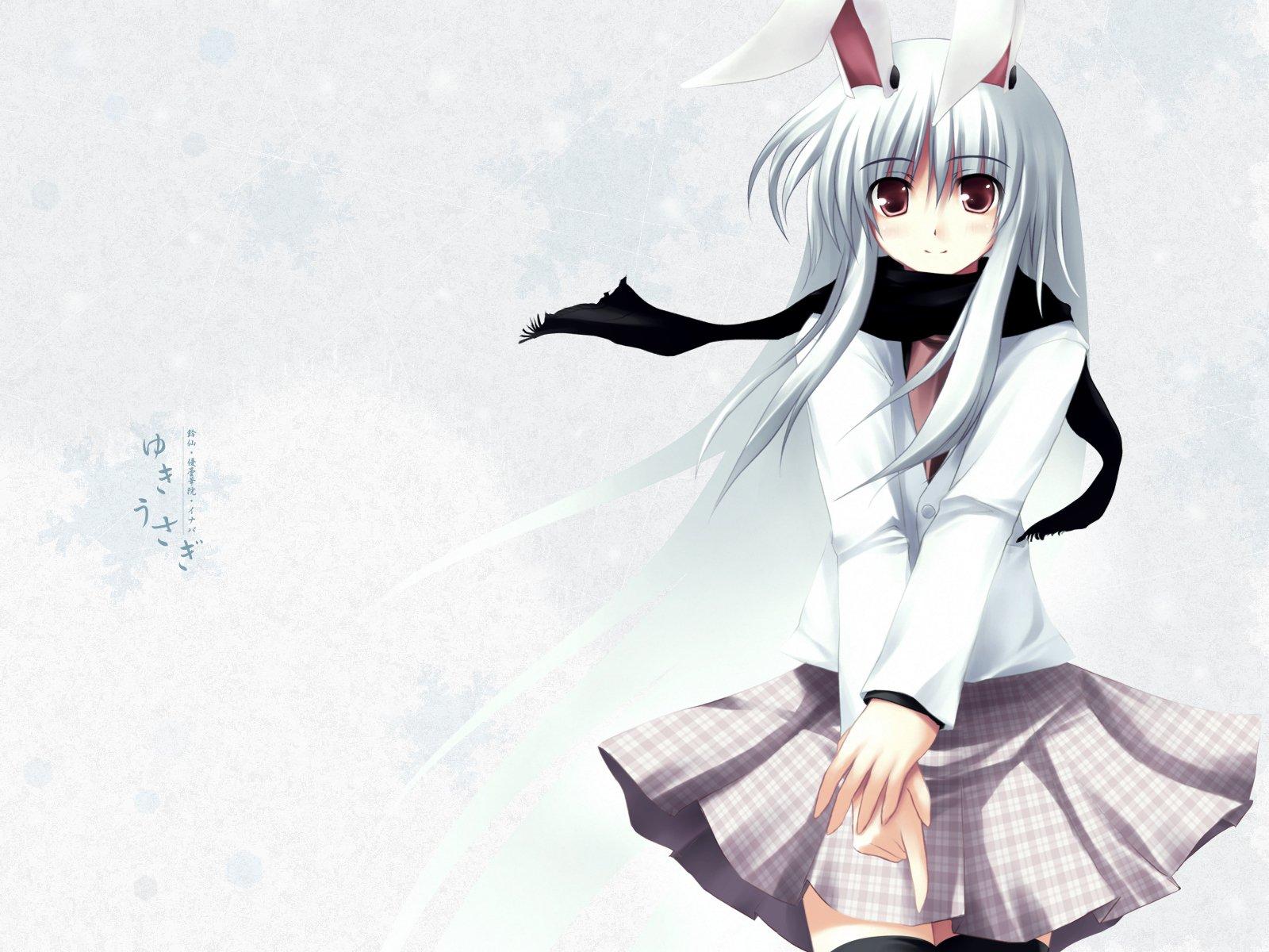 Anime - Flicka  Reisen Udongein Inaba Bakgrund
