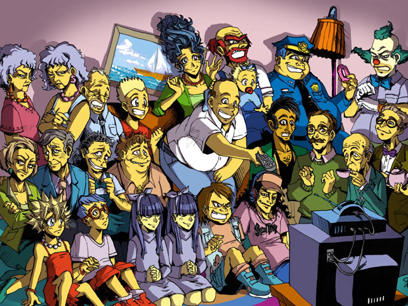 Series De Televisión - Los Simpsons  Fondo de Pantalla