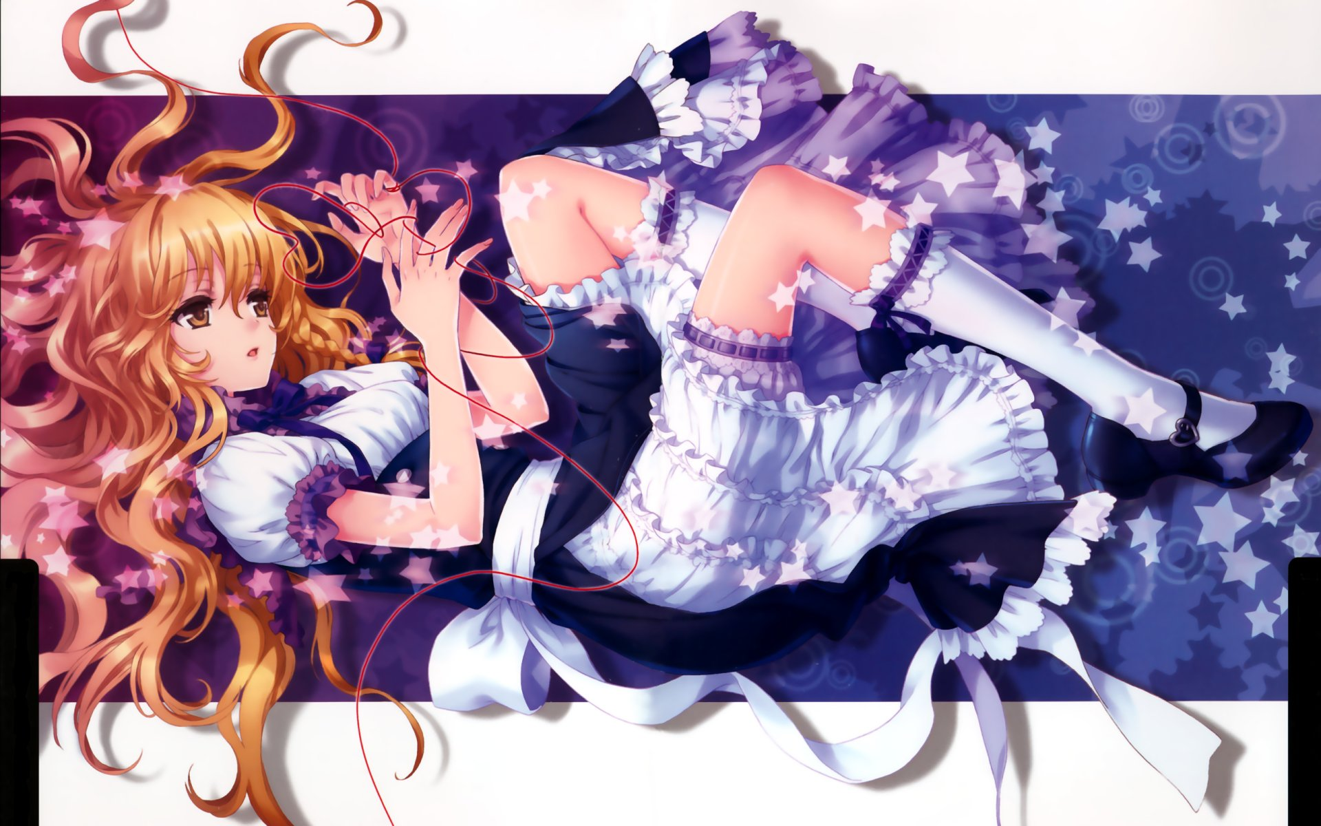 Anime - Touhou  Marisa Kirisame Wallpaper