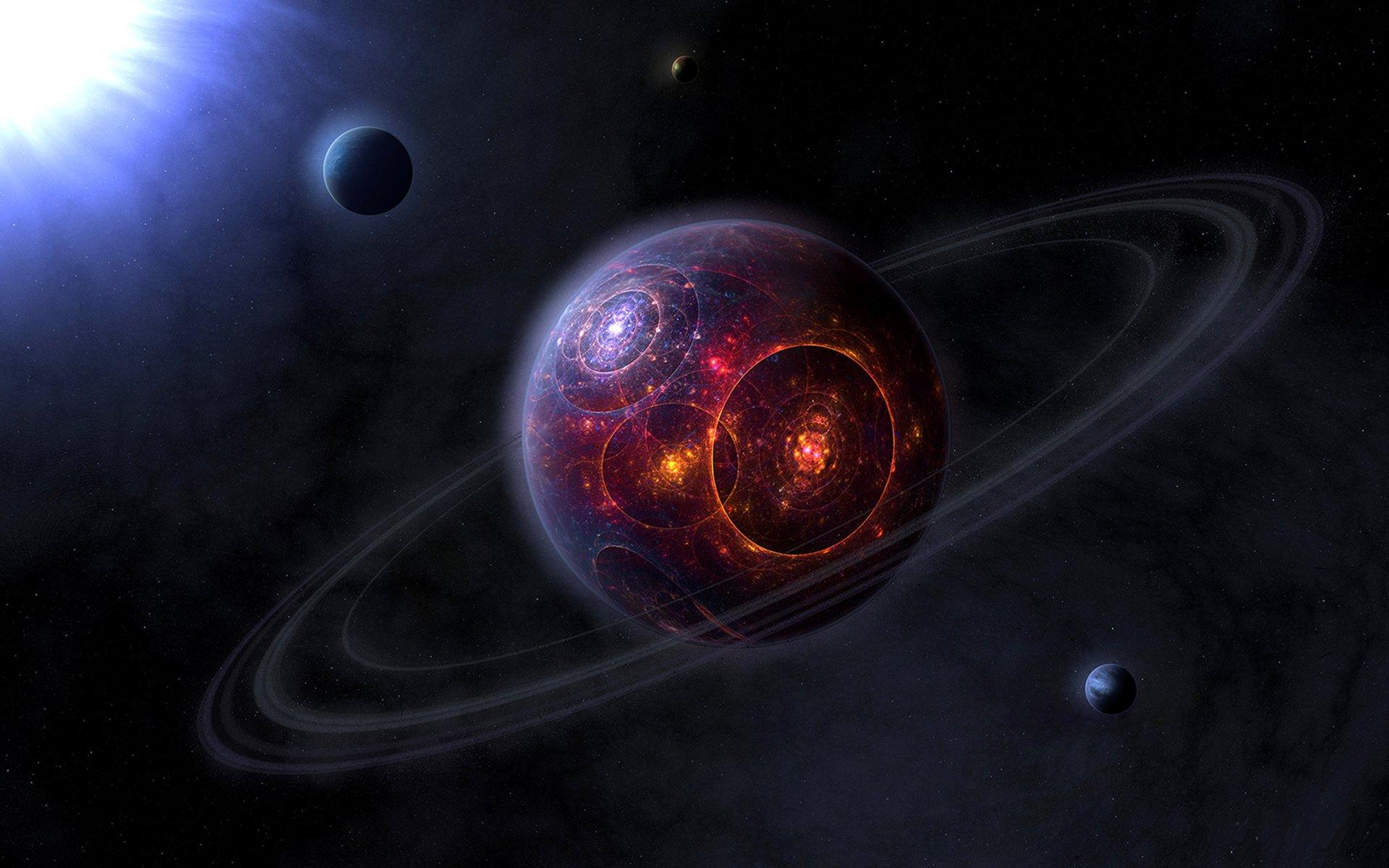 Fantascienza - Collisione  Fantascienza Sfondo