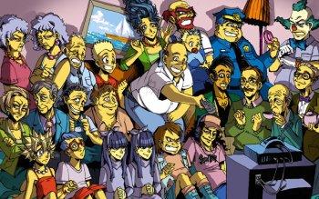 Televisieprogramma - The Simpsons Wallpapers and Backgrounds ID : 121562