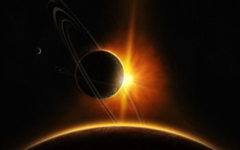 Sci Fi - Planetary Ring Wallpapers and Backgrounds ID : 121620