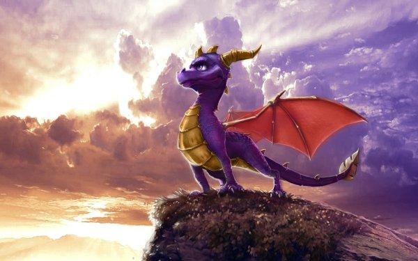 Video Game The Legend of Spyro: Dawn of the Dragon Spyro Dragon HD Wallpaper | Background Image