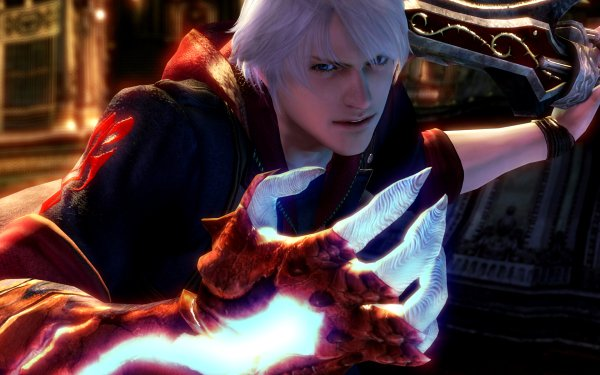 Video Game Devil May Cry 4 Devil May Cry Nero HD Wallpaper | Background Image