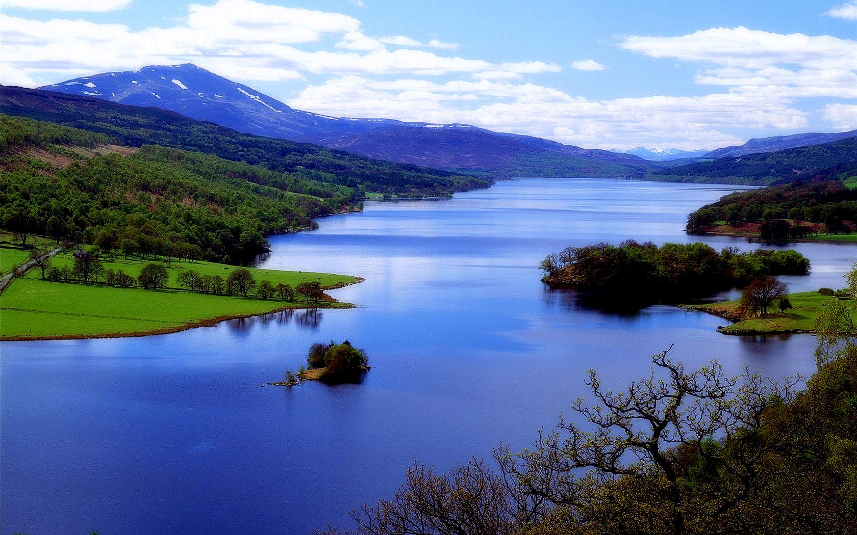 Tierra/Naturaleza - Lago  Fondo de Pantalla