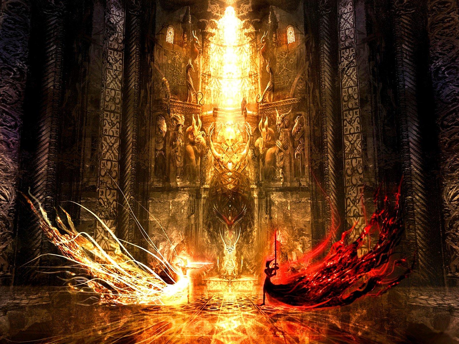 Fantasy - Battle  Fantasy Wallpaper