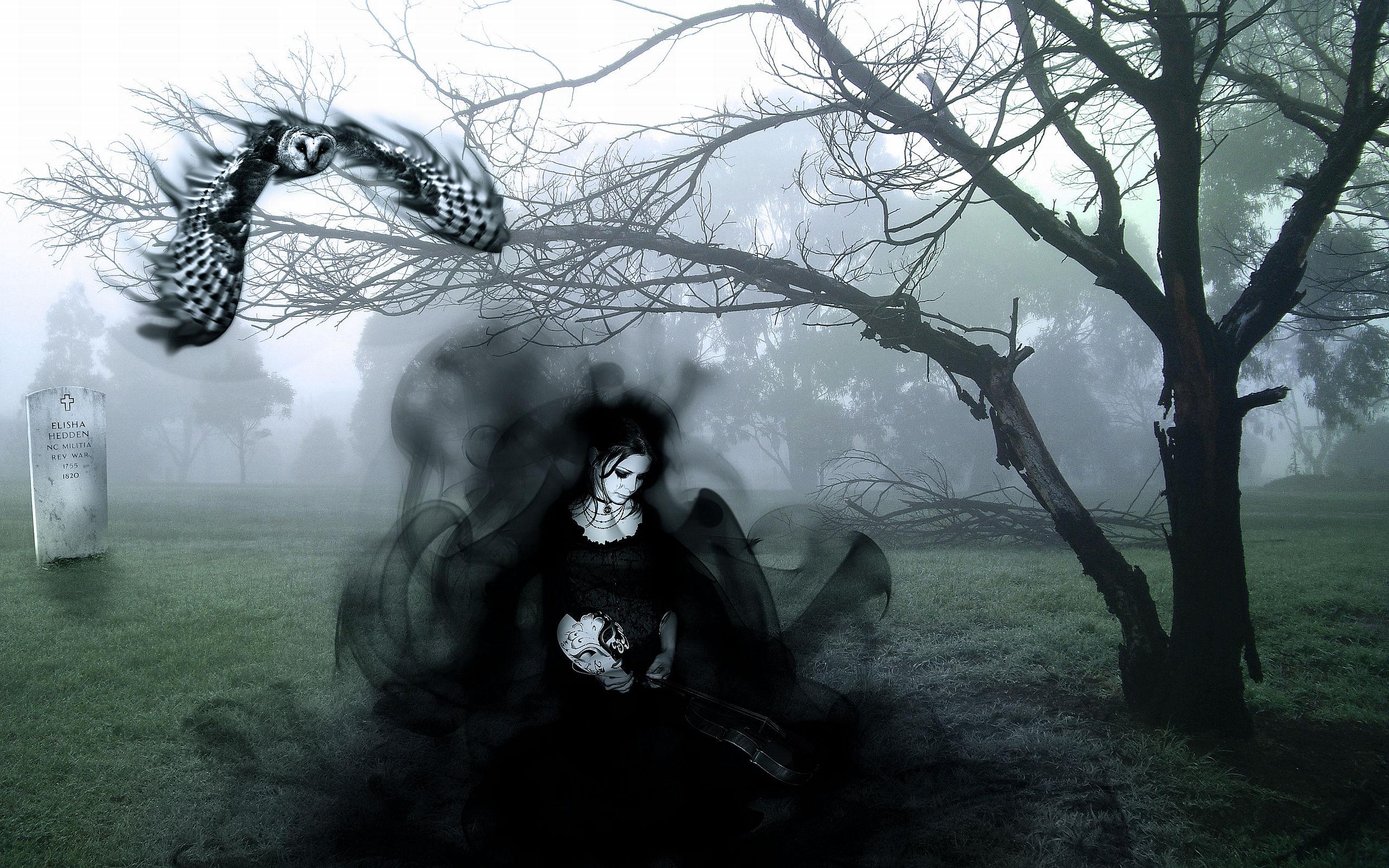 Donker - Gothic  Achtergrond