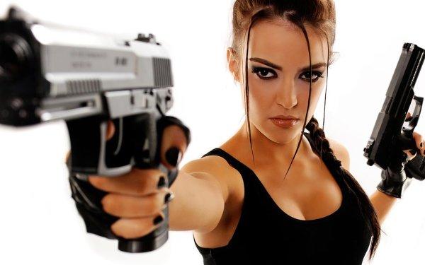 Femmes Cosplay Lara Croft Fond d'écran HD | Arrière-Plan