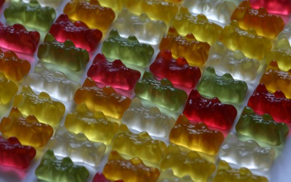 Food Candy Gummy Bear HD Wallpaper | Background Image