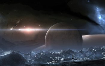 Sciencefiction - Planet Rise Wallpapers and Backgrounds ID : 127962