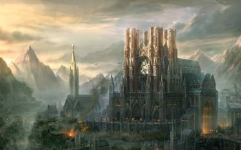Fantasy - Großstadt Wallpapers and Backgrounds ID : 130340