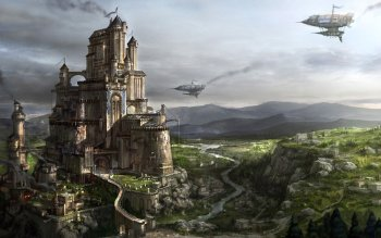 Fantasy - Großstadt Wallpapers and Backgrounds ID : 130710