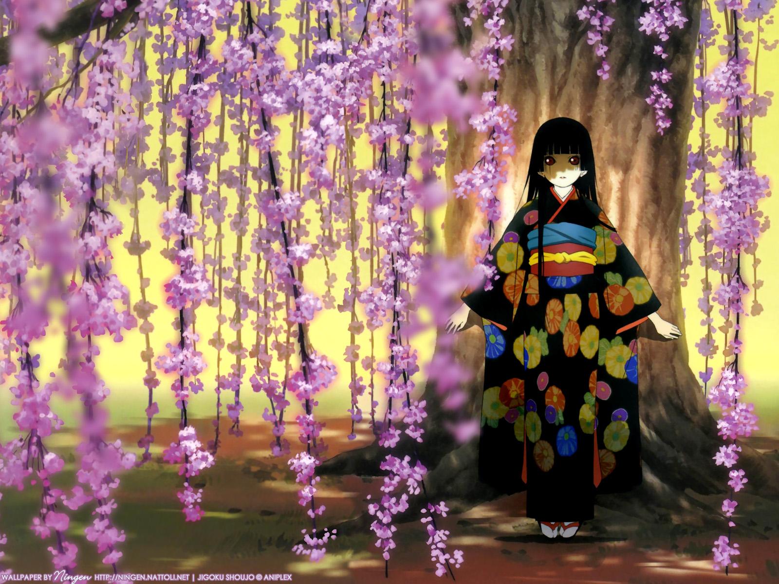 Anime - Jigoku Shōjo  Wallpaper