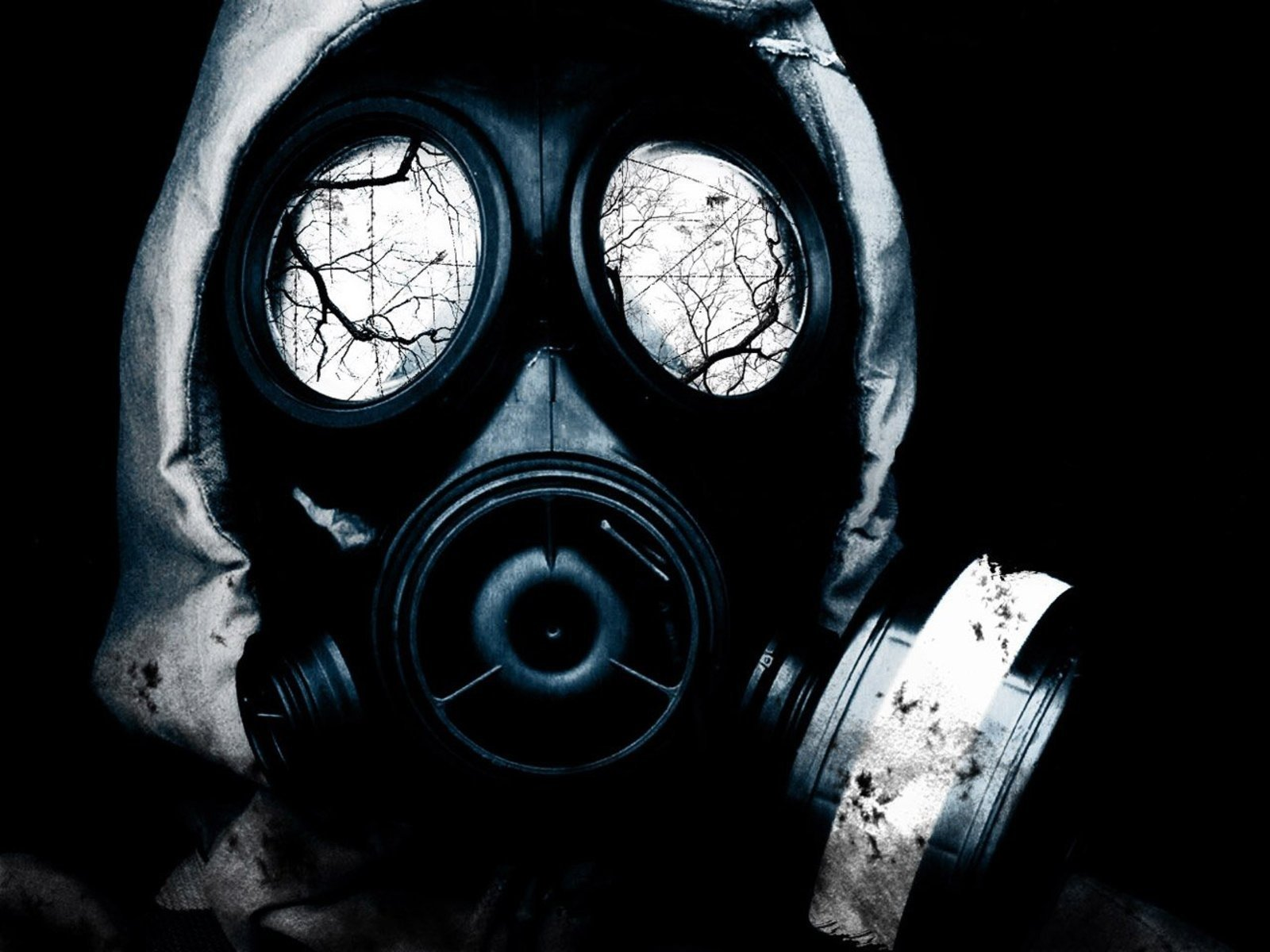 Gas Mask Girl HD Wallpaper