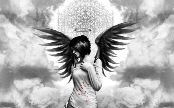 dans fond ecran ange noir thumbbig-131352