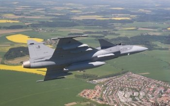 Military - Saab JAS 39 Gripen Wallpapers and Backgrounds ID : 13392