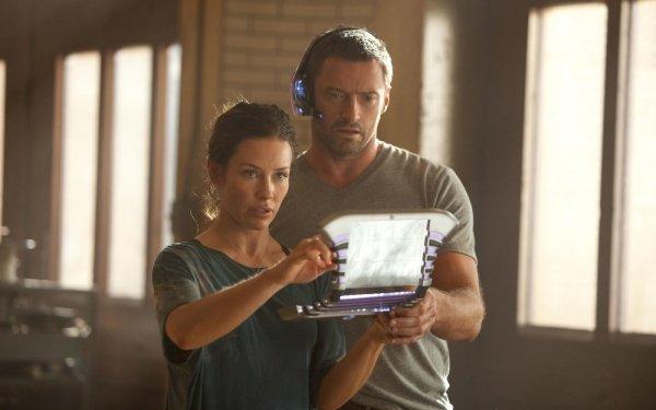 Film Real Steel Hugh Jackman Evangeline Lilly Fond d'écran HD | Arrière-Plan
