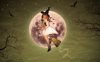 Fantasy - Witch Wallpapers and Backgrounds ID : 135612