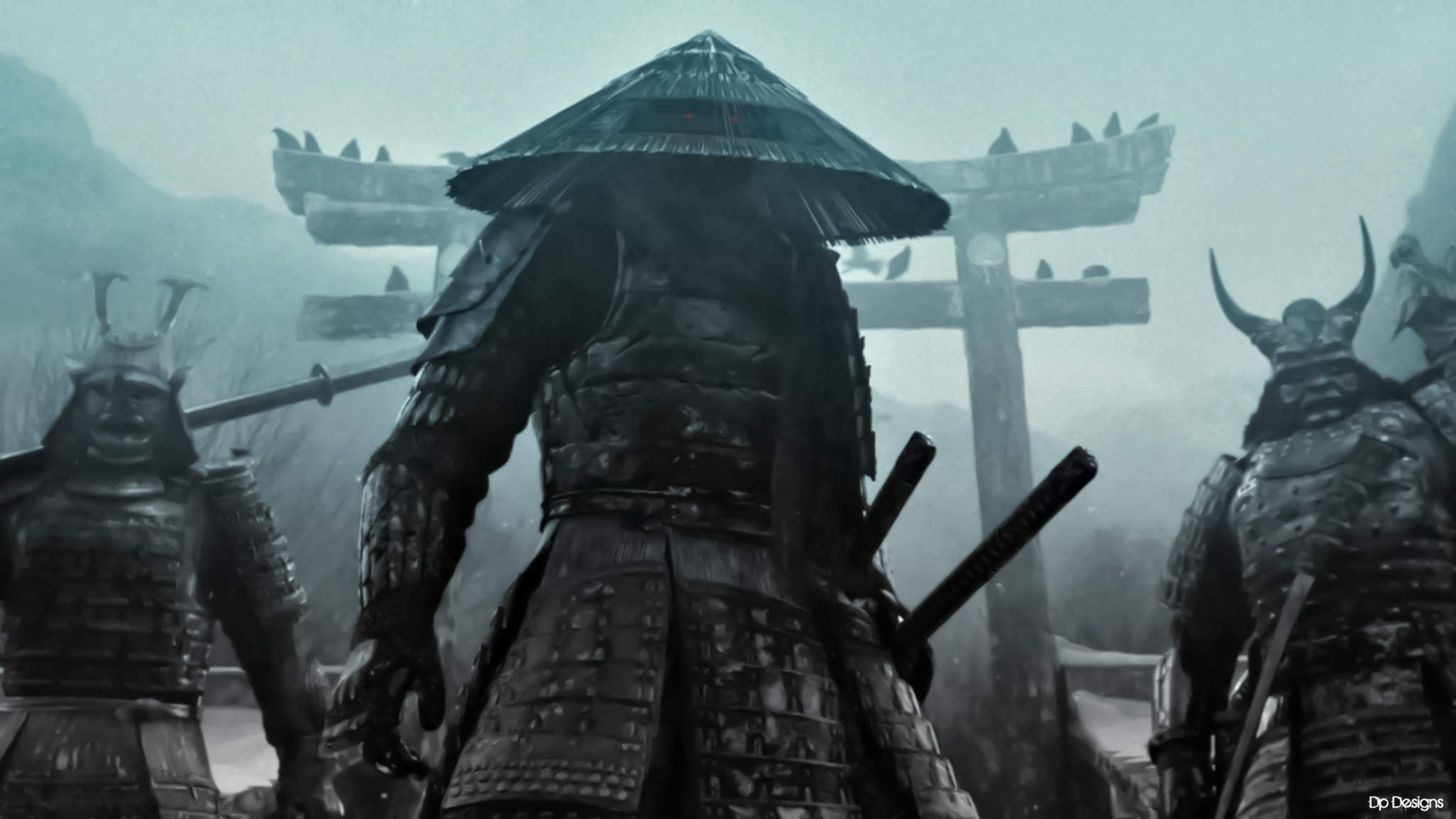 Dark Samurai Full Hd Wallpaper And Background Image  2050X1153  Id140510-7035