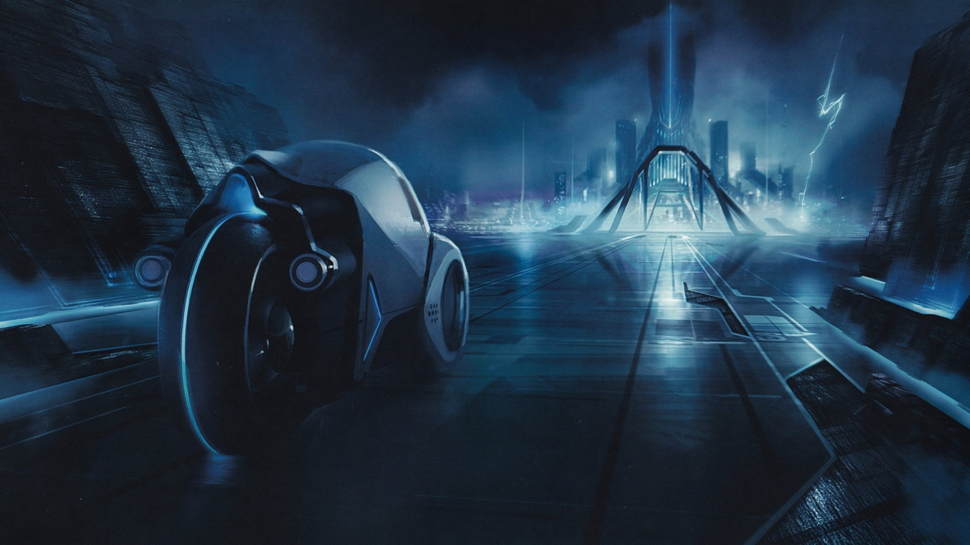 Films - TRON: Legacy  Tron Wallpaper