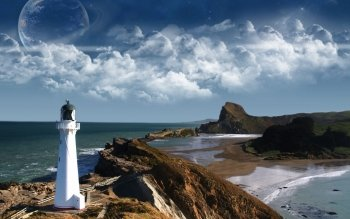 Man Made - Lighthouse Wallpapers and Backgrounds ID : 142632