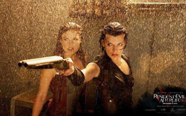 Movie Resident Evil: Afterlife Resident Evil Milla Jovovich Ali Larter HD Wallpaper | Background Image