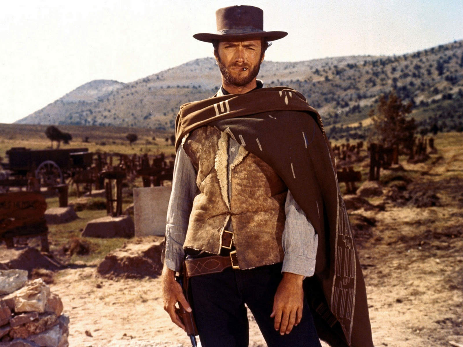 Berühmte Personen - Clint Eastwood  Hintergrundbild