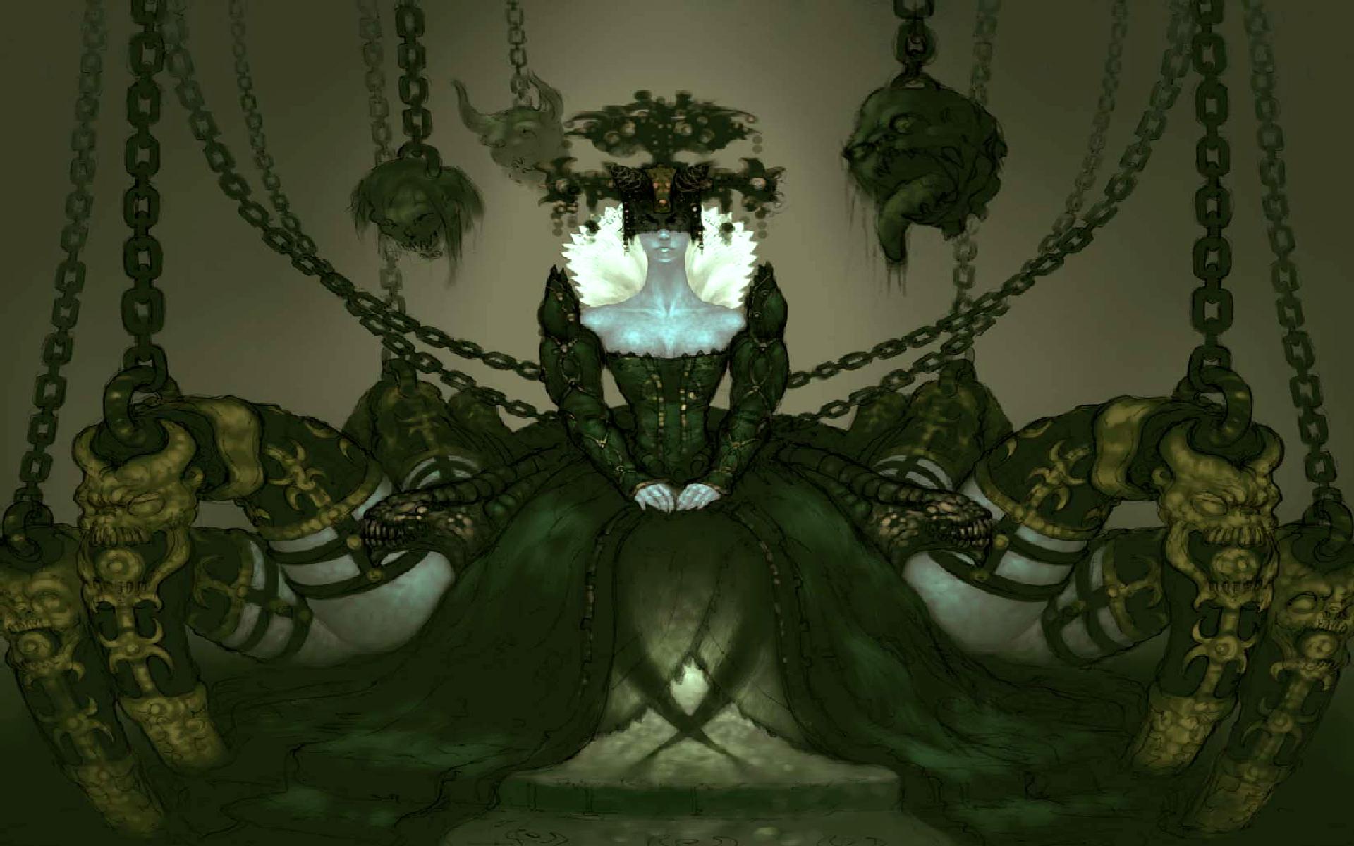 Videojuego - Diablo III  Cydaea (Diablo III) Demonio Oculto Fondo de Pantalla