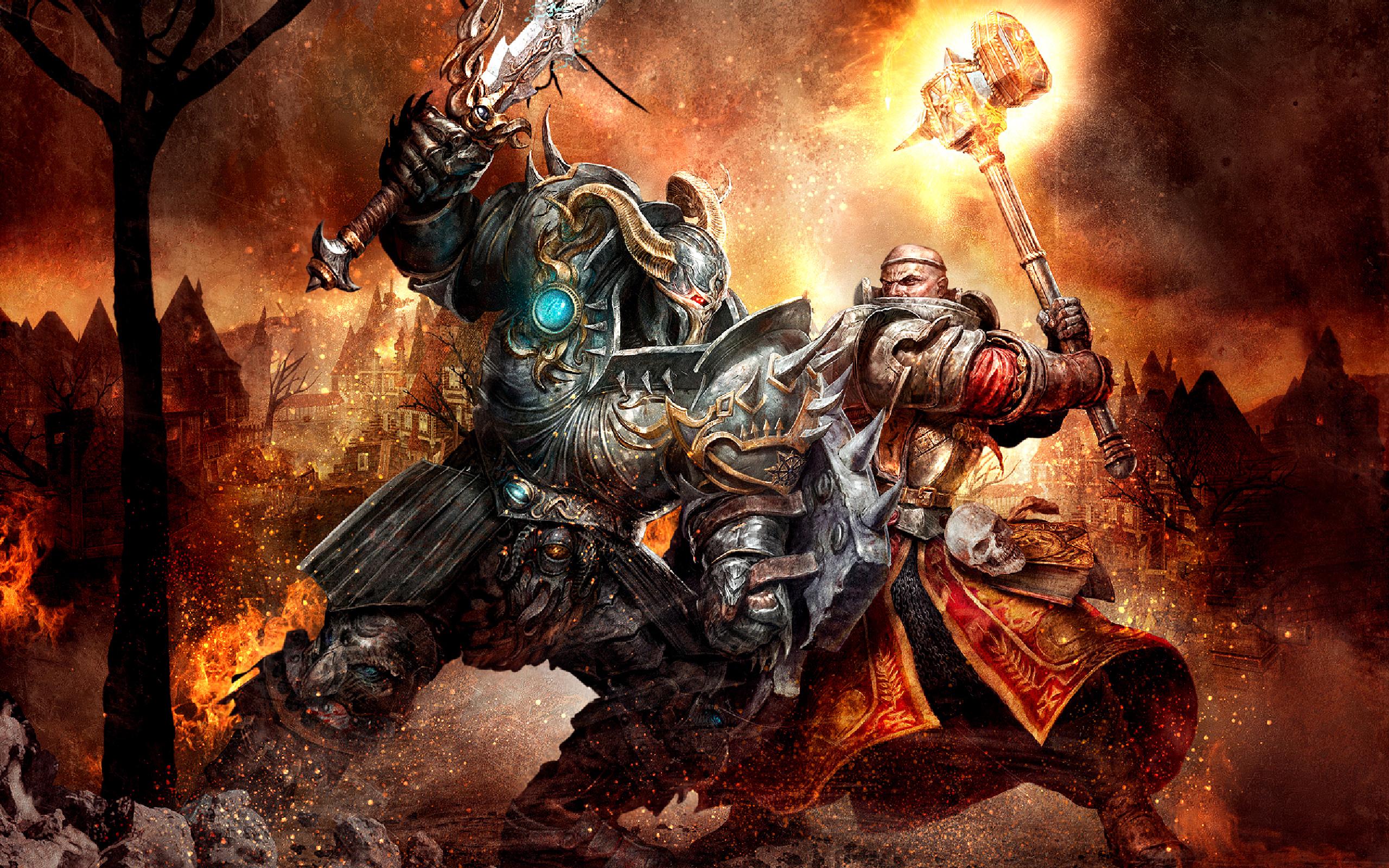 Hd wallpaper games - Hd Wallpaper Background Id 144312 2560x1600 Video Game Warhammer