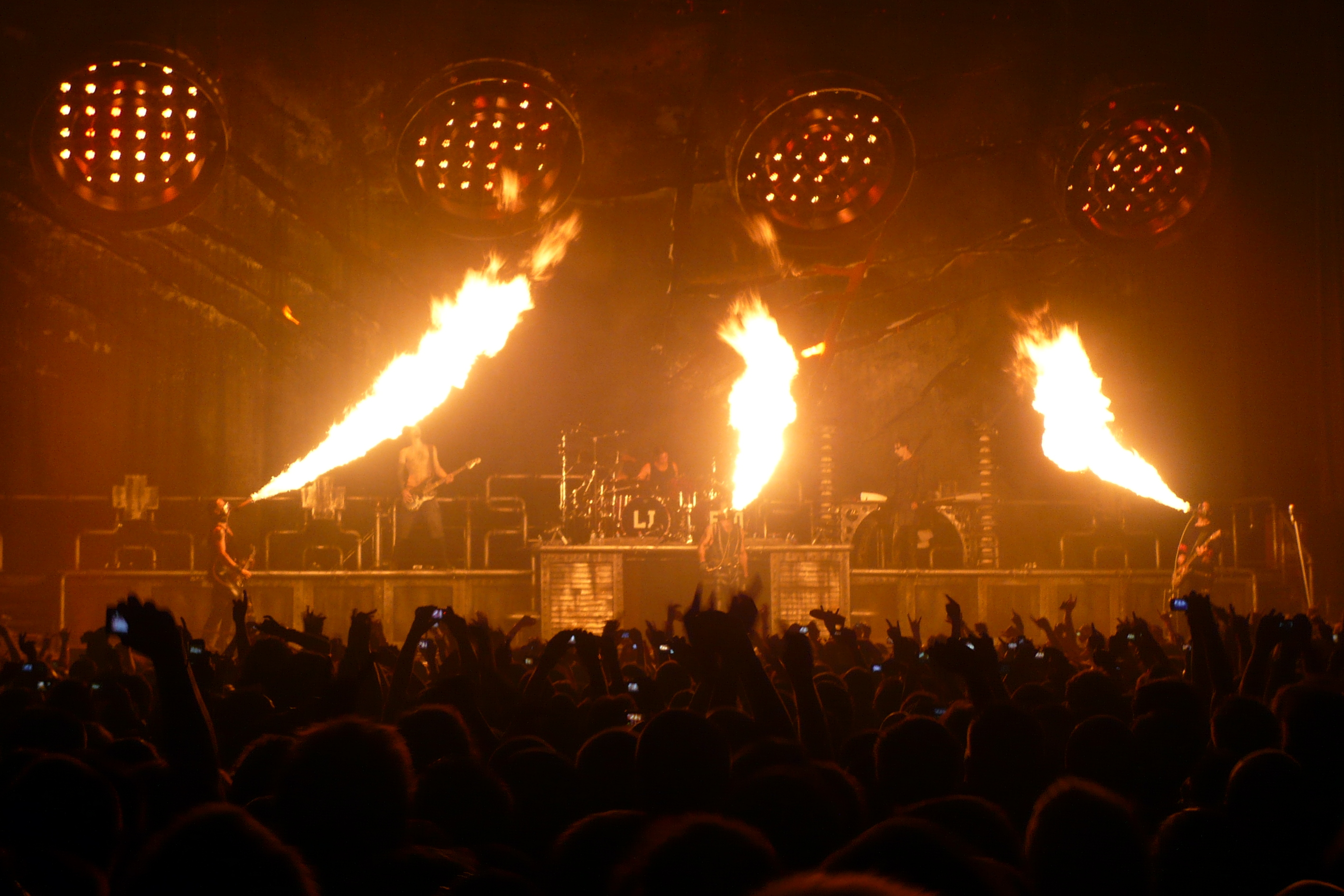 Rammstein In Paris Full Hd Wallpaper And Background