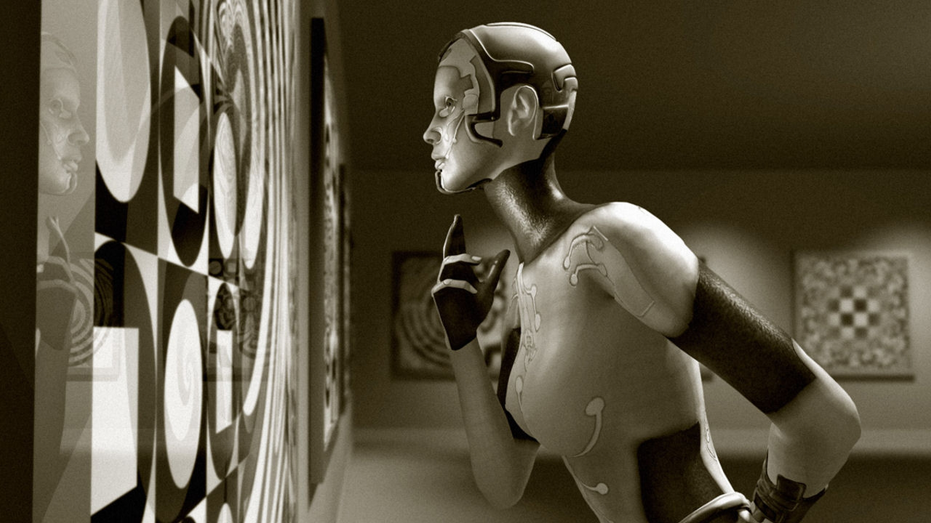 Cyborg Hd Wallpaper Background Image 1920x1080 Id 145972