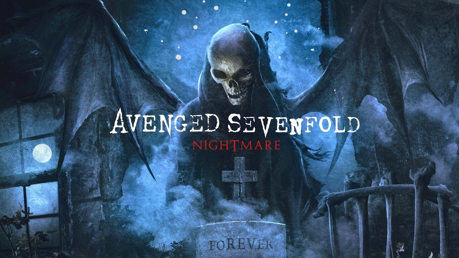 Avenged Sevenfold Nightmare Full HD Wallpaper And Background Image