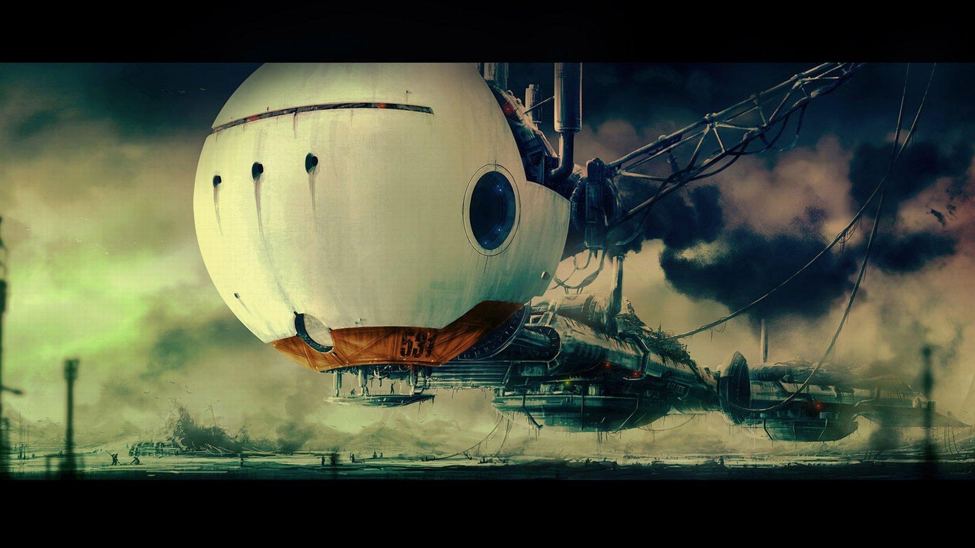 Sci Fi - Spaceship  Wallpaper