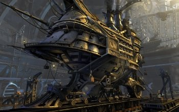 Sci Fi - Steampunk Wallpapers and Backgrounds ID : 145200
